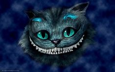Wallpaper Alice in Wonderland, smiling Cheshire Cat HD Picture, Image Cheshire Cat Wallpaper, Cat Phone Wallpaper, Hd Wallpaper, Phone Wallpapers, Cheshire Cat Smile, Chesire Cat, Lewis Carroll, Cat Alice, Bee Embroidery
