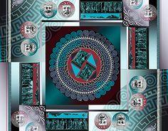 "Check out new work on my @Behance portfolio: ""Greek Silk Scarf"" http://be.net/gallery/41273359/Greek-Silk-Scarf"