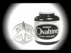 If Ovaltine was good enough for Captain Midnight, I had to drink it. Ovaltine, Rocket Power, Old Commercials, Tv Ads, Make You Smile, Childhood Memories, Growing Up, 1950s, Kid