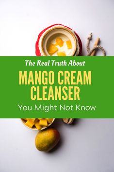 The Real Truth About Mango Cream Cleanser, Learn more check out the link. Mango Cream, Facial Cream, Homemade Facials, Diy Skin Care, Cream Recipes, Natural Skin Care, Cleanser, Make It Simple, Link