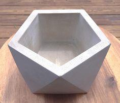 Large Concrete Planter Geometric Concrete Planter