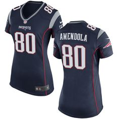 Nike New England Patriots Women s  80 Danny Amendola Game Navy Blue Home  NFL Jersey Patriots 6559afa21