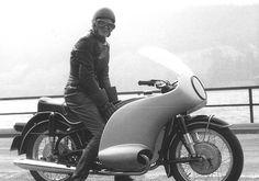 3 R69S | Anke-Eve Goldmann on BMW R69S, ca.1963 | Senex1347 | Flickr