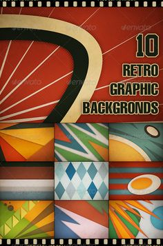 10 Retro Graphic Backgrounds II  #GraphicRiver         10 Colored High Resolution & Quality Backgrounds with Halftones Elements  	 - Size – 3200×2267px  	 - Fully Layered, Named and Grouped  	 Perfect for all uses!  	 And Another 10 Retro Graphic Backgrounds     Created: 11August11 GraphicsFilesIncluded: PhotoshopPSD #JPGImage Layered: Yes MinimumAdobeCSVersion: CS3 PixelDimensions: 3200x2267 Tags: background #blue #brown #circus #dots #graphic #halftone #hq #movie #orange #paper #poster…