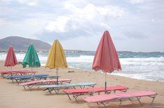 Pretty pastels along the shore