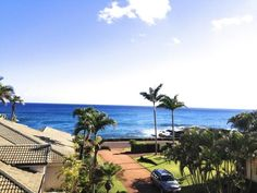 Spectacular, newly constructed 3 bedroom house with ocean views. Kauai Vacation Rentals, Beautiful Ocean, Ocean Views, Beautiful Interiors, Kai, Condo, Beach, Outdoor Decor, House