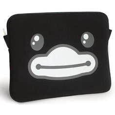 B.Duck Black Notebook Case ZZ