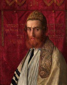 Isidor Kaufmann Portrait of a rabbi wearing a kittel and tallith.jpg
