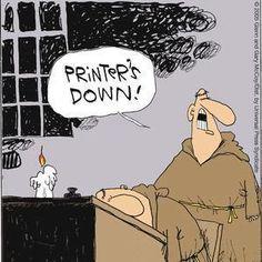 Printer humor