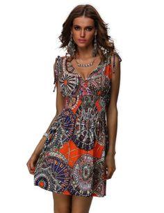 Xueyi Women's Spring Summer Bold Dresses Flower14 - List price: $55.88 Price: $22.22