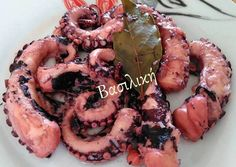 #cookpad_greece #χταποδι #μεζεδακι Recipe Images, Fish Recipes, Octopus, Shrimp, Cooking Recipes, Yummy Food, Meat, Chicken, Fish Food