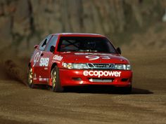 SAAB 9-3 Pikes Peak race car