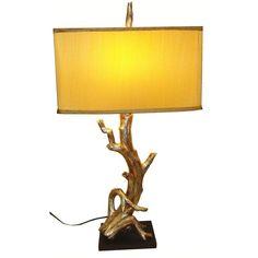 Gold Tree Branch Lamp - $599 Est. Retail - $499 on Chairish.com