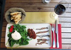 Eating My Way Through Rome Rome Travel, Mozzarella, Italian Recipes, Bar, Tableware, Food, Dinnerware, Tablewares, Essen