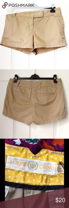 """J. Crew Shorts ✔️Inseam 3"""". No rips, holes and stains. 100% cotton. Low waist 34"""". ✔️ Reasonable offers or bundle 3 listings and get automatic 20% discount. ✔️Same day shipping  ❌No trades or outside PM transactions ✔️ Questions Happy shopping J. Crew Shorts"""