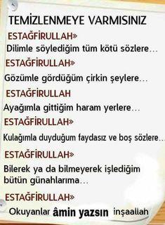 Estağfirullah El-Azim...