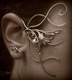 Acala's ear... thing this is creepy what is this?