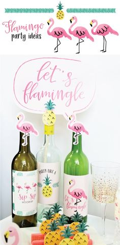 Flamingo Party Ideas from BigDotOfHappiness.com #HappyDot