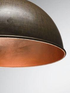 Galileo| Lampade a sospensione e applique in ottone o ferro