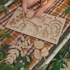 #handmade #puzzle #autumn | Stuka Puka Kids Toys, Puzzle, Autumn, Children, Handmade, Childhood Toys, Young Children, Puzzles, Boys