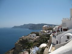 Santorini, Greece. One of the most beautiful places I've ever visited.