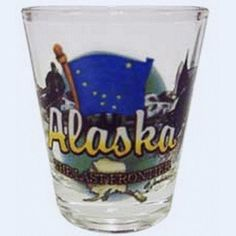 Alaska Last Frontier State Shot Glass * Find out more about the great product at the image link.