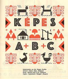 """secretempires:Brochure of design examples """"Képes,"""" 1930"""