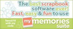 Need a way to showcase all of those memories? Enter the My Memories Suite Giveaway hosted by Learning 4 Keeps!