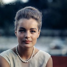 romy Schneider and Princess Grace
