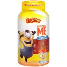 L'il Critters Despicable Me Complete Multivitamin Fruit-Flavored Gummies offer a fun and easy way to make sure your kids get the nutrients they need. Soft and easy to chew, these kids' vitamins come in cool shapes and flavors kids love. Minions, My Minion, Amazing Grass Green Superfood, Berry Punch, Vitamins For Kids, Cool Shapes, Superfood Powder, Herbal Essences, Despicable Me