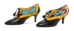 Moschino taxi shoes 1992