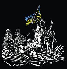 Via Laurent Brayard  fantasme d'un activiste français de l'#Ukraine brune, dévoyer les symboles et les salir