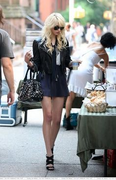 Taylor Momsen. Her band The Pretty Reckless is freakin' amazing!
