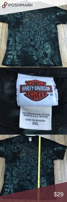 Harley Davidson 2XL Black T-shirt Alaska Harley Davidson 2XL Black T-shirt Alaska   Brand:  Harley Davidson  Size:  2XL (See photos for measurements to ensure fit)  100% Cotton Preowned Harley-Davidson Shirts Tees - Short Sleeve