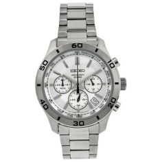 Seiko Chronograph Men's Quartz Watch SSB047 Seiko. $88.11. Band color: silver. Model: SNK617. Dial color: silver tone dial with silver hour markers. Brand:Seiko. Condition:brand new with tags. Save 65% Off!