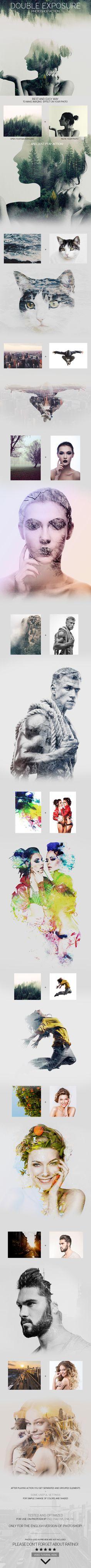 Eugene Smith Double Exposure Photoshop Action on Behance