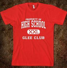 Glee Shirt WANT