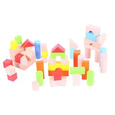 This wonderfully packaged box of bricks comprises lots of different shapes and colours to inspire young ones to shape their own playtime. It also helps in the development of concentration and co-ordination skills, as well as improving dexterity. Supplied in a brightly coloured box with a knotted rope carrying handle. Consists of 50 play pieces. Ages 1 year and up.  http://shop.bigjigstoys.co.uk/products/productdetail/Box+of+Bricks/part_number=BB067/12465.0.4.3.69408.40584.0.0.0?pp=20