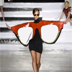 Now that's some crazy fashion