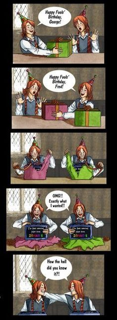 Read Fred et George from the story Recueil de fanarts Harry Potter Fanart Harry Potter, Harry Potter Comics, Harry Potter Wallpaper, Arte Do Harry Potter, Harry Potter Jokes, Harry Potter Pictures, Harry Potter Universal, Harry Potter World, Harry Potter Characters