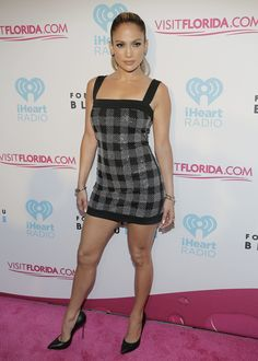 Jennifer Lopez at the iHeartRadio Ultimate Pool Party.