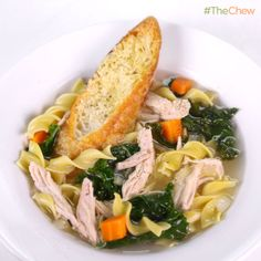 Clinton Kelly's Leftover Turkey Soup #TheChew