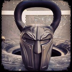 This not your usual kettlebell, this is Spartan Kettlebell