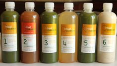 ritual cleanse cold pressed juices