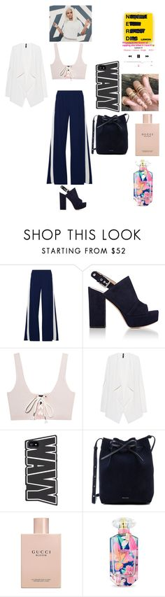 """Being a model for this song"" by groovegoddess18 ❤ liked on Polyvore featuring Norma Kamali, Gianvito Rossi, Puma, Mansur Gavriel, Gucci, Victoria's Secret and lookinglikeasupermodel"
