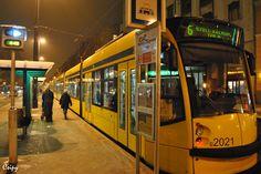 Tram 6 in Budapest