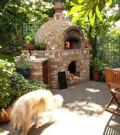 Pizza Oven. Nice one Jamie!