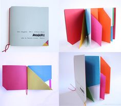 Bruno Munari - Libro illeggibile