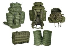 Old and FAVORITE style of backpack design, the Rocket bag updated verrrry nicely by Tasmanian Tiger Molle Field Pack.