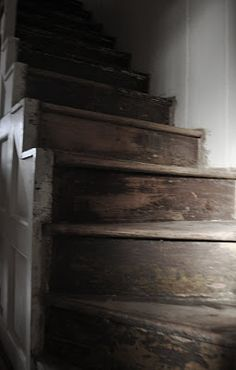 thick heavy old stairs
